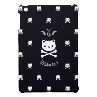 Devil Cat Nikolas Skull Pattern Cases iPad Mini Cases