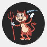 Devil Cat Sticker