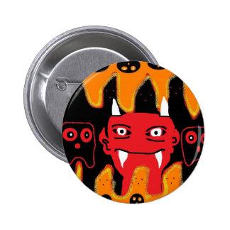 devil chillin pin