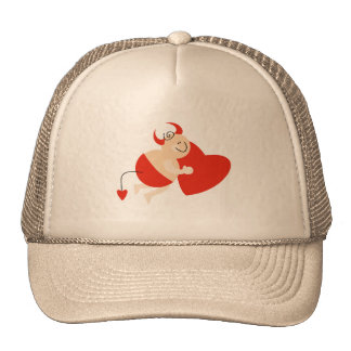 Devil Cupid Tshirts and Gifts Mesh Hat