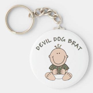 Devil Dog Brat (Boy) Keychain