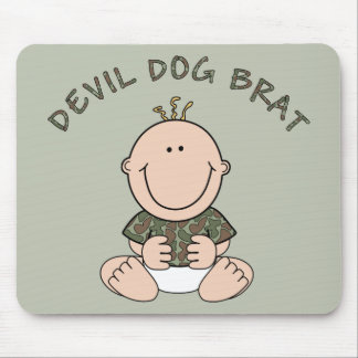 Devil Dog Brat (Boy) Mouse Pad