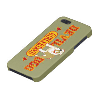 Devil Dog Girlfriend Cover For iPhone 5
