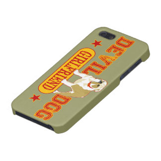 Devil Dog Girlfriend iPhone 5 Cover