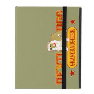 Devil Dog Granddaughter iPad Case