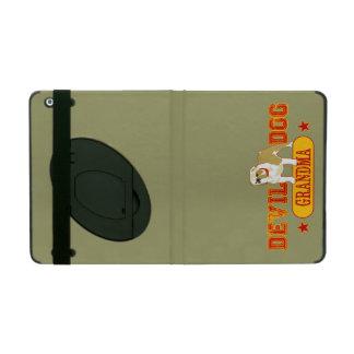 Devil Dog Grandma iPad Folio Case