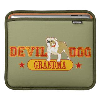 Devil Dog Grandma Sleeve For iPads