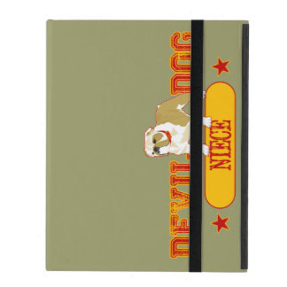 Devil Dog Niece iPad Cover