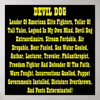 DEVIL DOG ( POSTER )