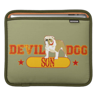 Devil Dog Son Sleeve For iPads