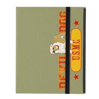 Devil Dog USMC iPad Cover