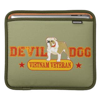 Devil Dog Vietnam Vet iPad Sleeves