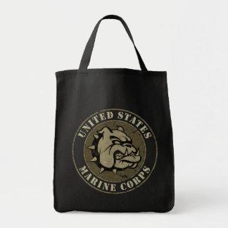 Devil Dog Vintage Emblem Tote Bag