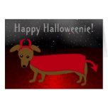 Devil Doggie Greeting Card