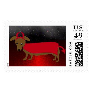 Devil Doggie Postage
