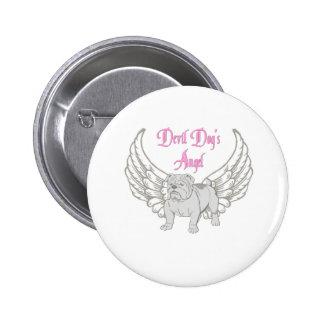 DEVIL DOG'S ANGEL PINBACK BUTTON
