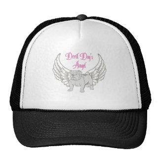 DEVIL DOG'S ANGEL TRUCKER HAT