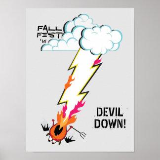 DEVIL DOWN! POSTER
