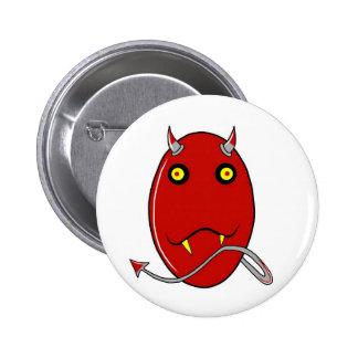 Devil Egghead Pins
