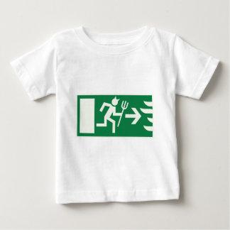devil emergency exit baby T-Shirt