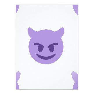 devil emoji card