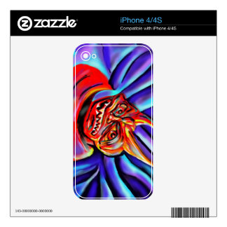 Devil face - skin for the iPhone 4S