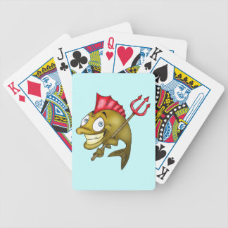 Devil Fish Playing Cards