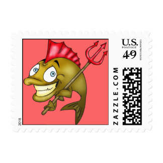 Devil Fish Postage