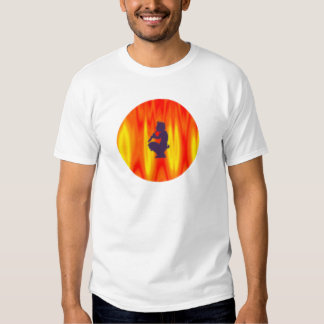 Devil flute devil floods Pan Tee Shirt