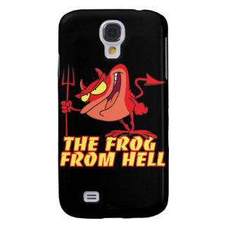 devil frog frog from hell cartoon galaxy s4 cover