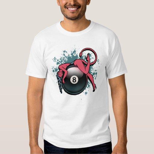 Devil Girl 8-Ball T-shirt