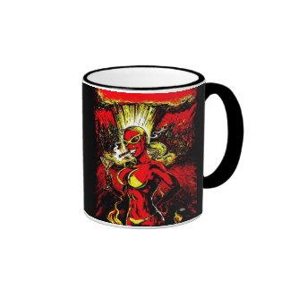 Devil Girl Atom Bomb Coffee Mug
