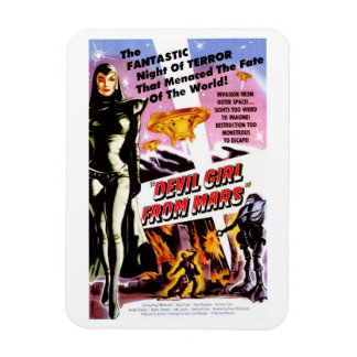 """Devil Girl from Mars"" Magnet"