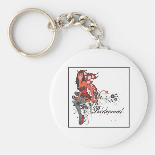 Devil Girl II Keychain