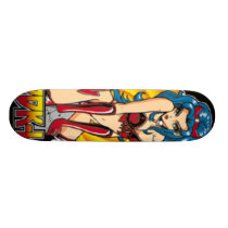 devil girl_Logo Skateboard Deck
