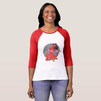 Devil-Girl (Vintage Edition.) T-Shirt