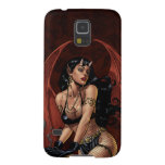 Devil Girl Witch's Cauldron Smoking Gothic Art Case For Galaxy S5