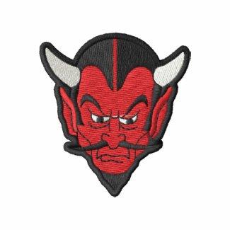 Devil Head embroideredshirt
