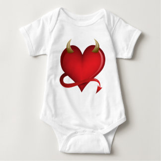 Devil Heart Baby Bodysuit