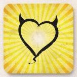 Devil Heart Coaster