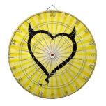 Devil Heart Dart Boards