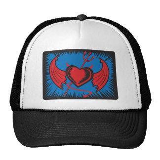 Devil Heart Hats