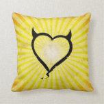 Devil Heart Pillows
