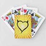 Devil Heart Poker Deck