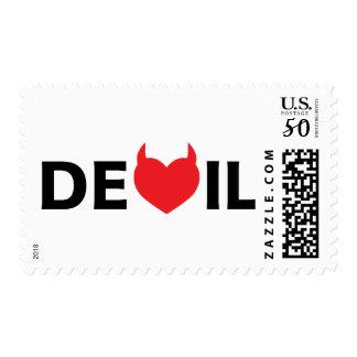 Devil & Heart Postage