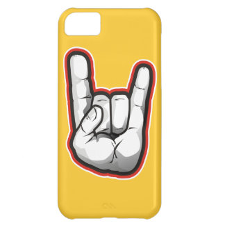 Devil Horns Hand Gesture Cover For iPhone 5C