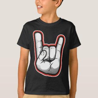 Devil Horns Hand Gesture T-Shirt