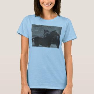 Devil Horse and Zebra Horse T-Shirt