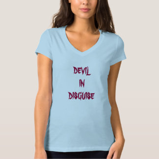 Devil In Disguise ladies' t-shirt