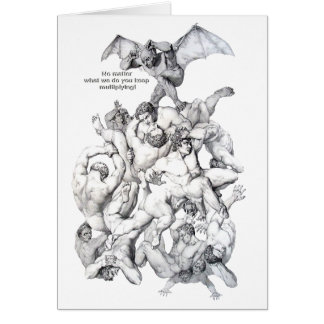 DEVIL IN TROUBLE CARD